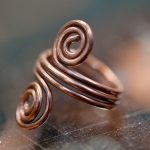 Salvaged Copper Wire ring
